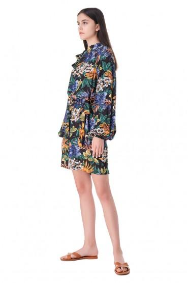 Платье с принтом ESSENTIEL ANTWERP ESAw11012