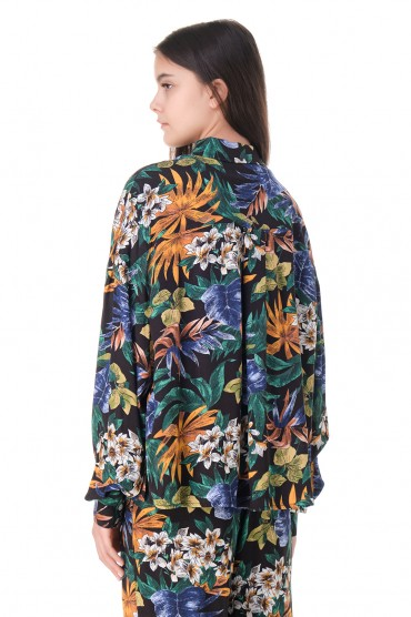 Блуза с принтом ESSENTIEL ANTWERP ESAw11013