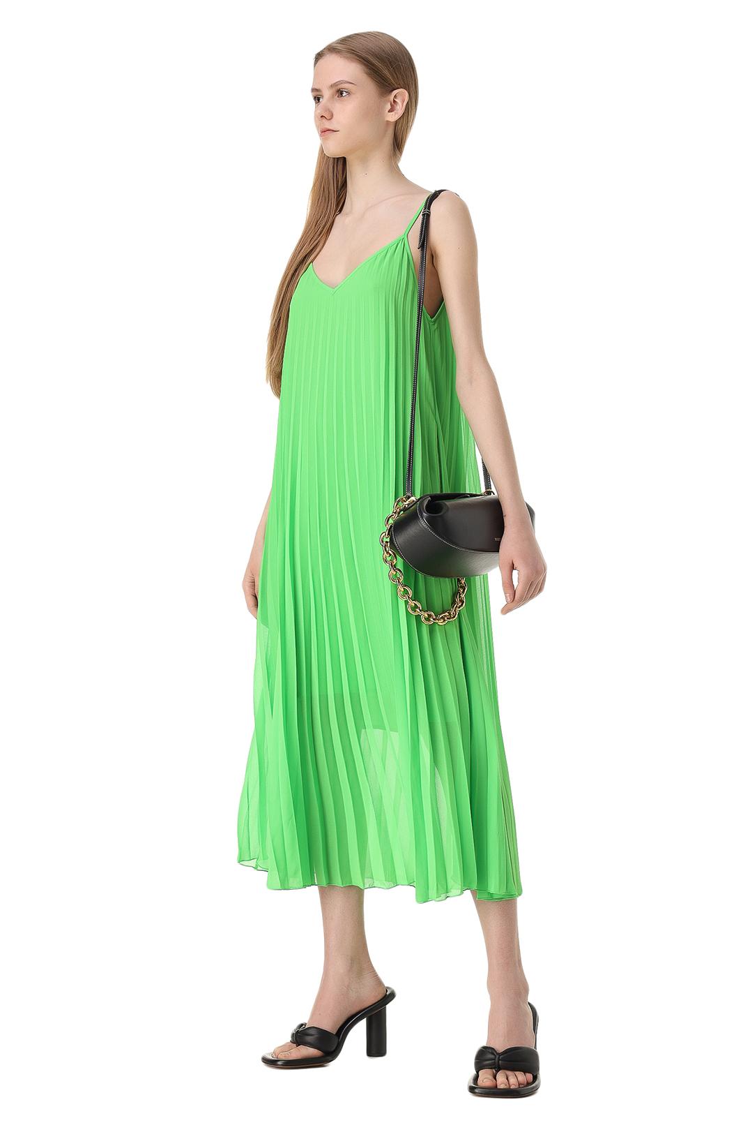 Плиссированное платье-комбинация ESSENTIEL ANTWERP ESAw11026