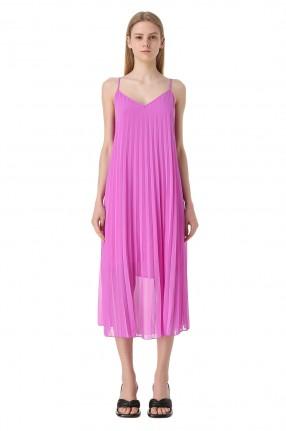 ESSENTIEL ANTWERP Плиссированное платье-комбинация