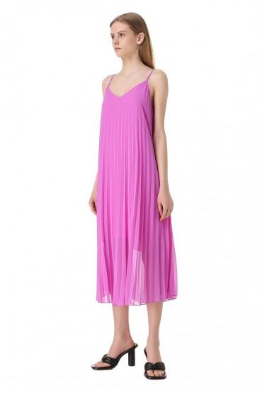 Плиссированное платье-комбинация ESSENTIEL ANTWERP ESAw11027