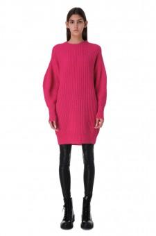 Платье-свитер oversize