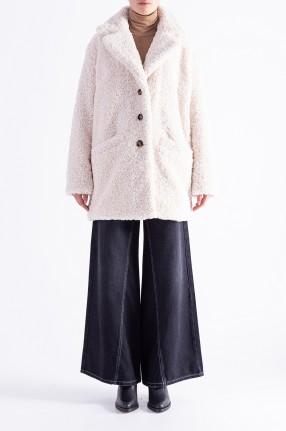 ESSENTIEL ANTWERP Пальто из искусственного меха