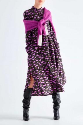 ESSENTIEL ANTWERP Платье-рубашка с принтом