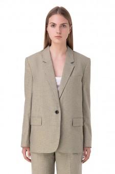 Пиджак в гусиную лапку VERIX