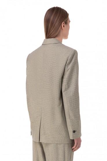 Пиджак в гусиную лапку VERIX ETOILE ISABEL MARANT ETOI10005