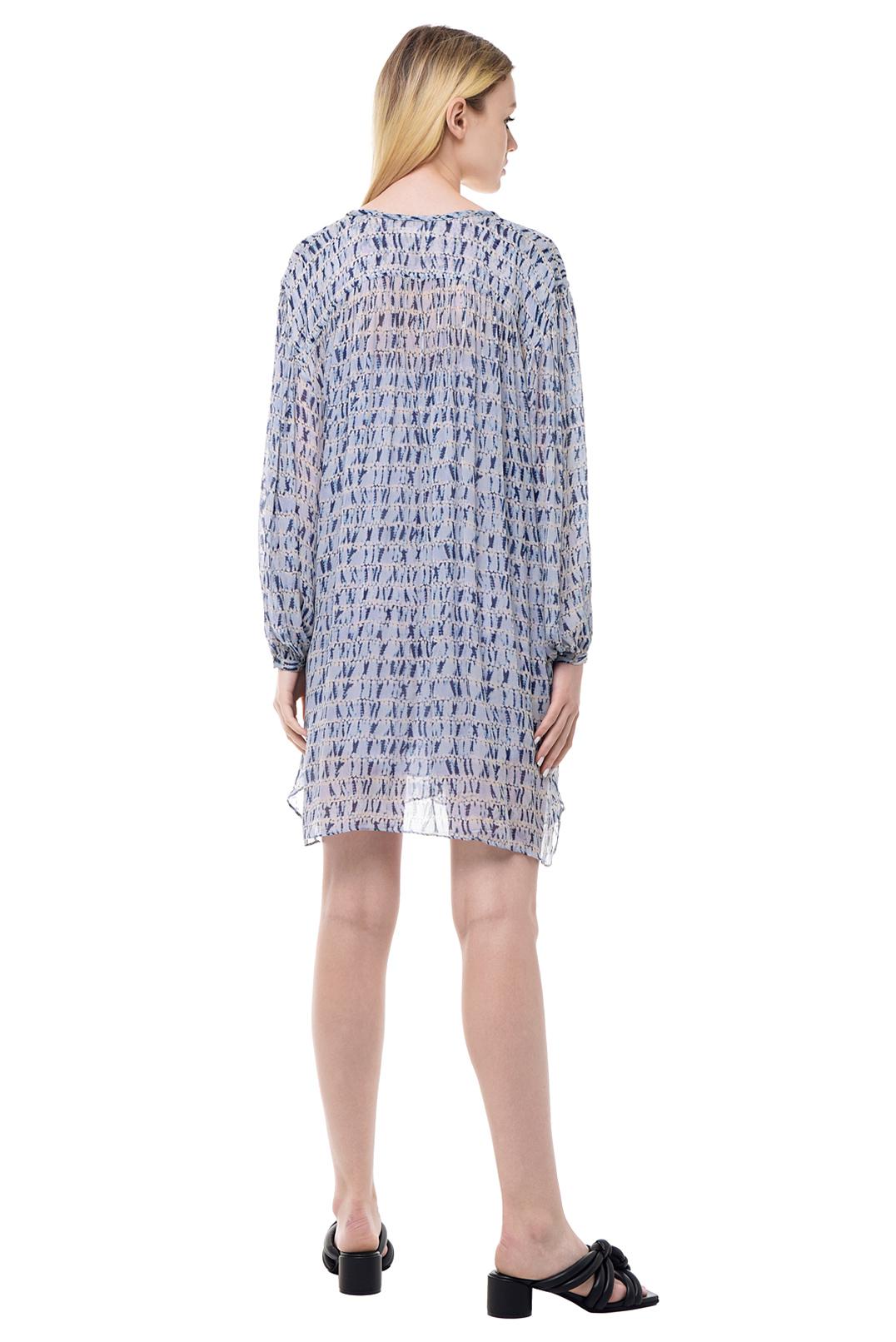 Платье с принтом ETOILE ISABEL MARANT ETOI11001