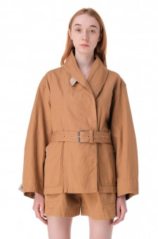 Куртка со съемным ремнем