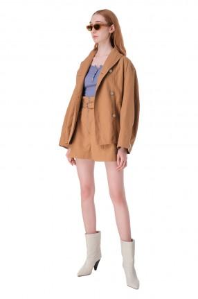 ETOILE ISABEL MARANT Куртка со съемным ремнем