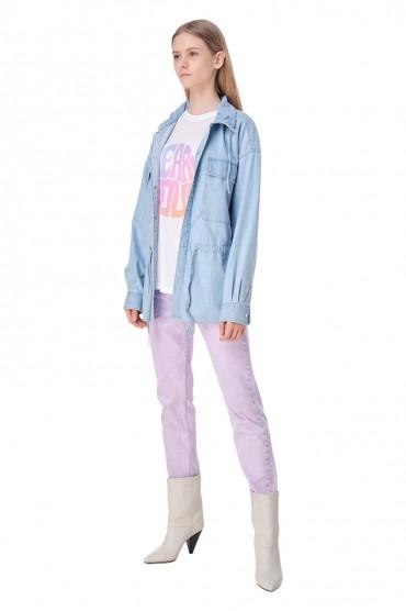 Джинсовая рубашка ETOILE ISABEL MARANT ETOI11014