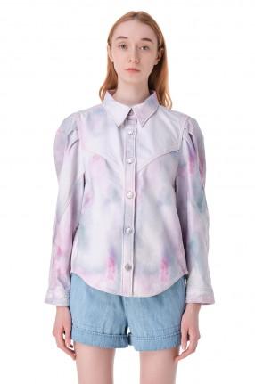 ETOILE ISABEL MARANT Рубашка с принтом