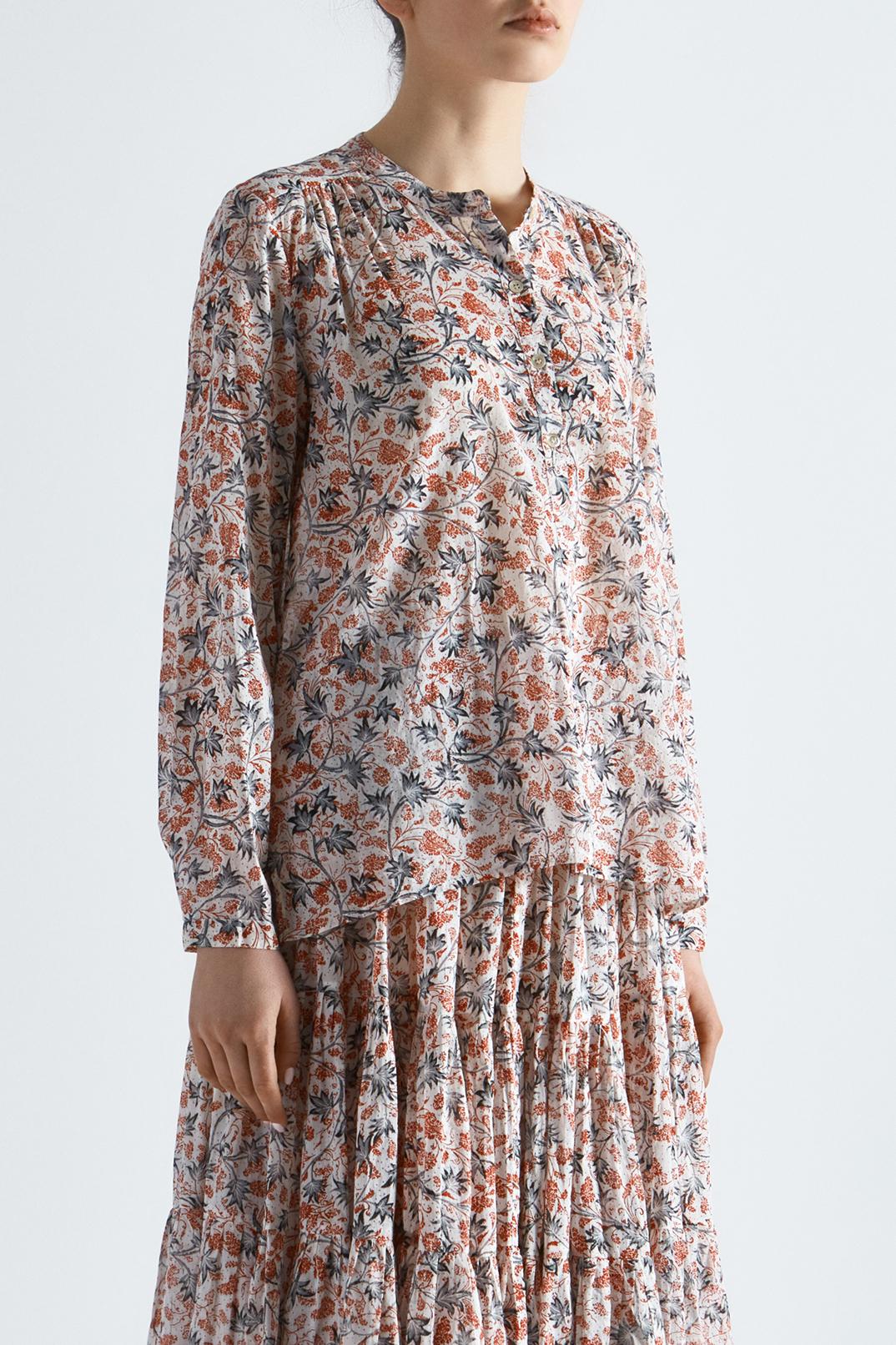 Блуза с принтом ETOILE ISABEL MARANT ETOI19014