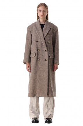 ETOILE ISABEL MARANT Двубортное пальто