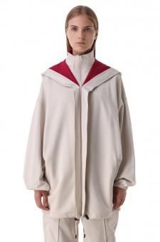 Куртка oversize c логотипом