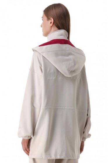 Куртка oversize c логотипом ETOILE ISABEL MARANT ETOI21017