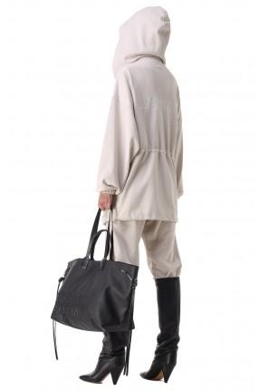 ETOILE ISABEL MARANT Куртка oversize c логотипом