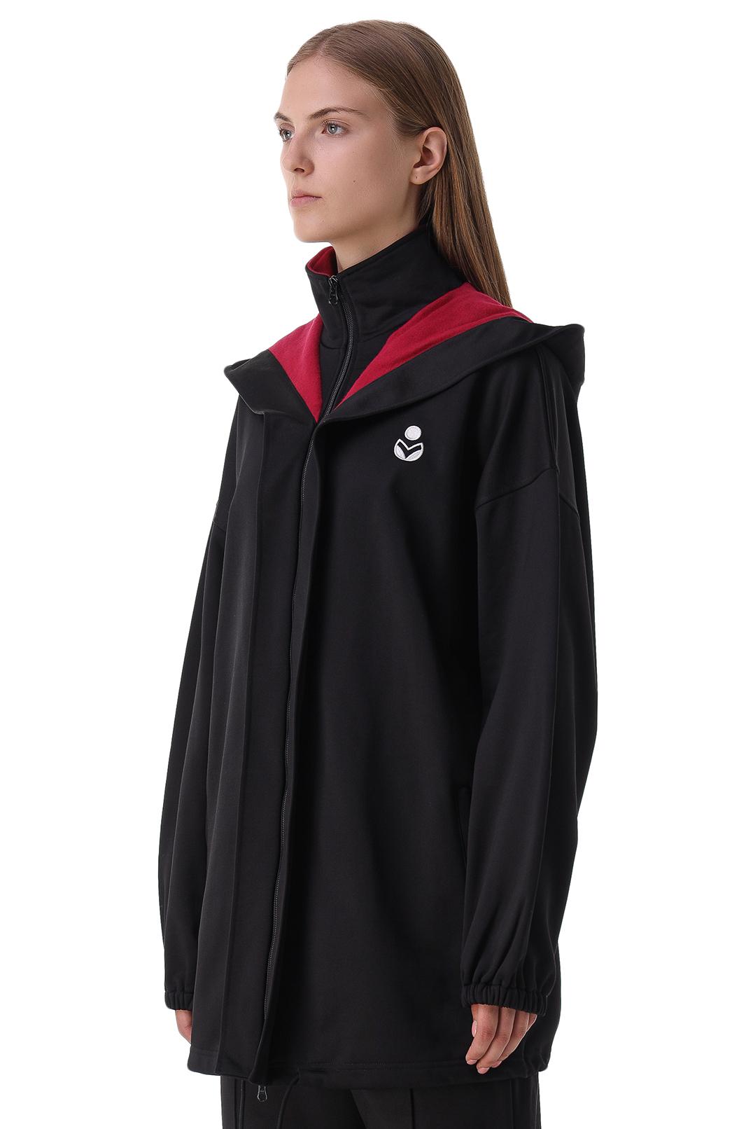 Куртка oversize c логотипом ETOILE ISABEL MARANT ETOI21018