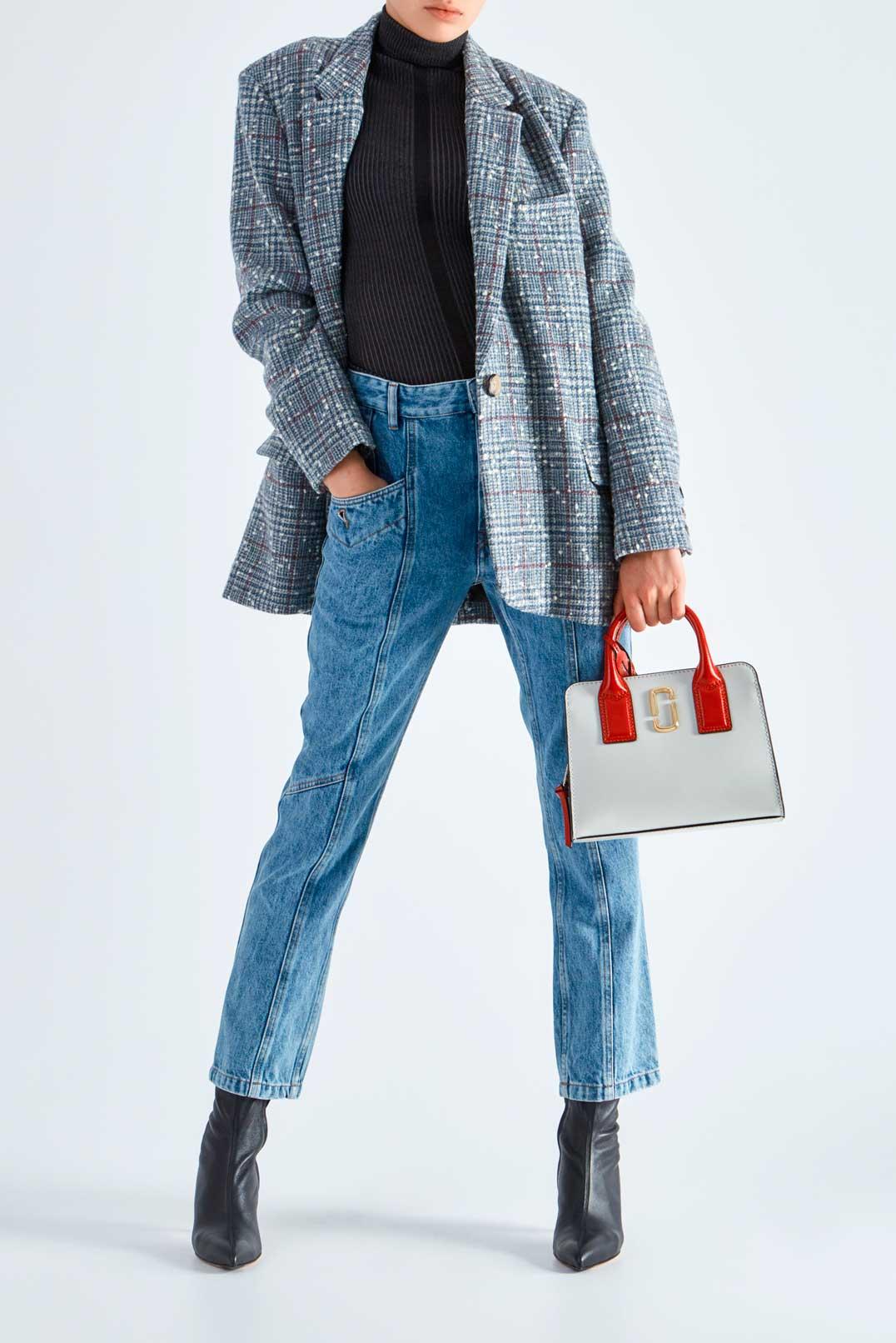 Укороченные джинсы ETOILE ISABEL MARANT ETOI29012