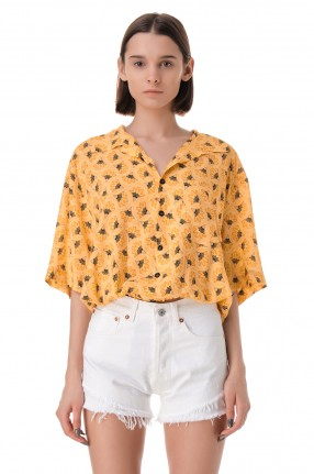 FORTE DEI MARMI COUTURE Рубашка с принтом