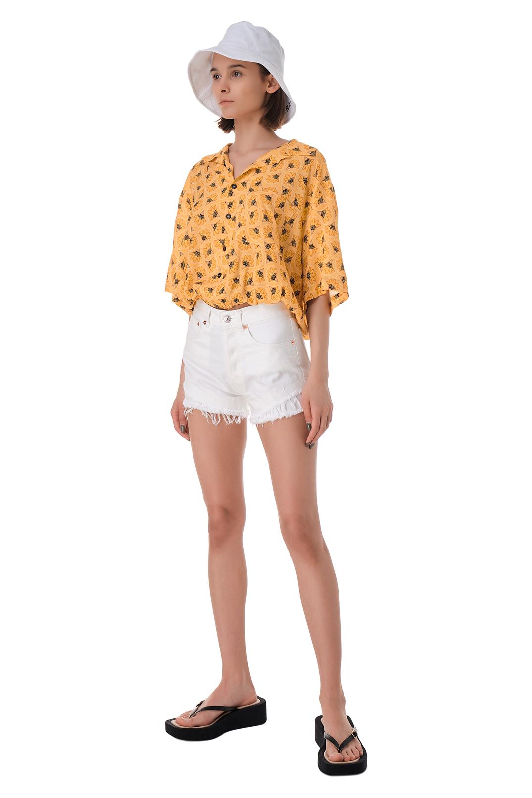 Рубашка с принтом FORTE DEI MARMI COUTURE FOR11009