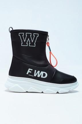 F_WD Ботинки c принтом