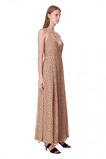 Платье на запах GANNI GANp10014