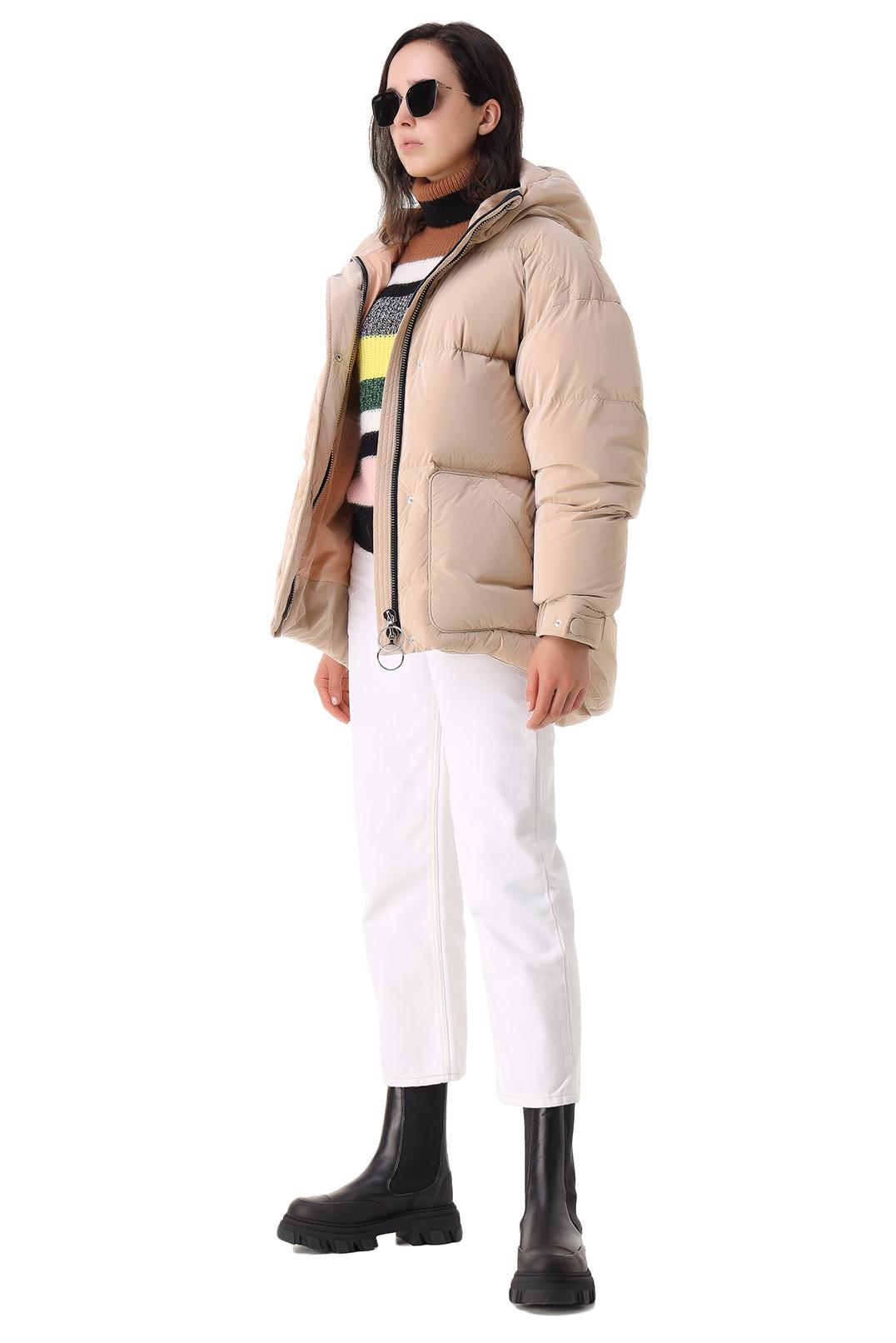 Укороченные джинсы GANNI GANp21003