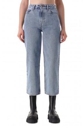 GANNI Укороченные джинсы