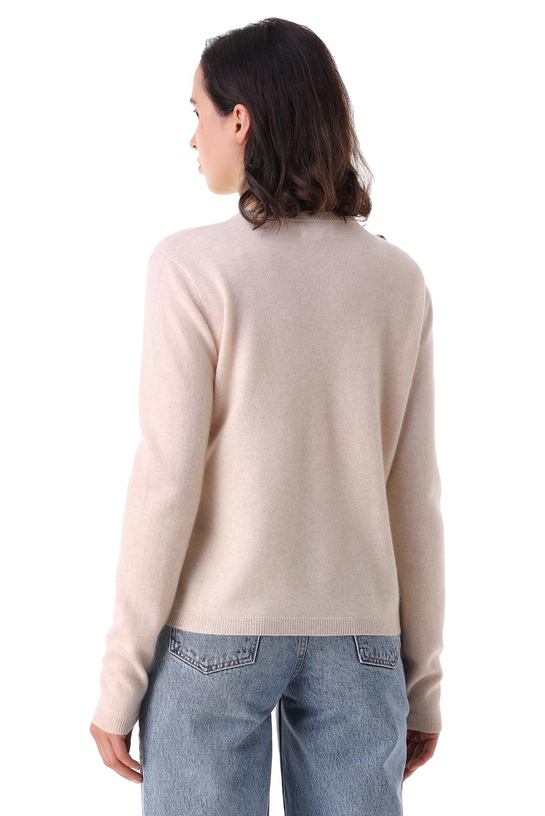 Кашемировый свитер GANNI GANp21013