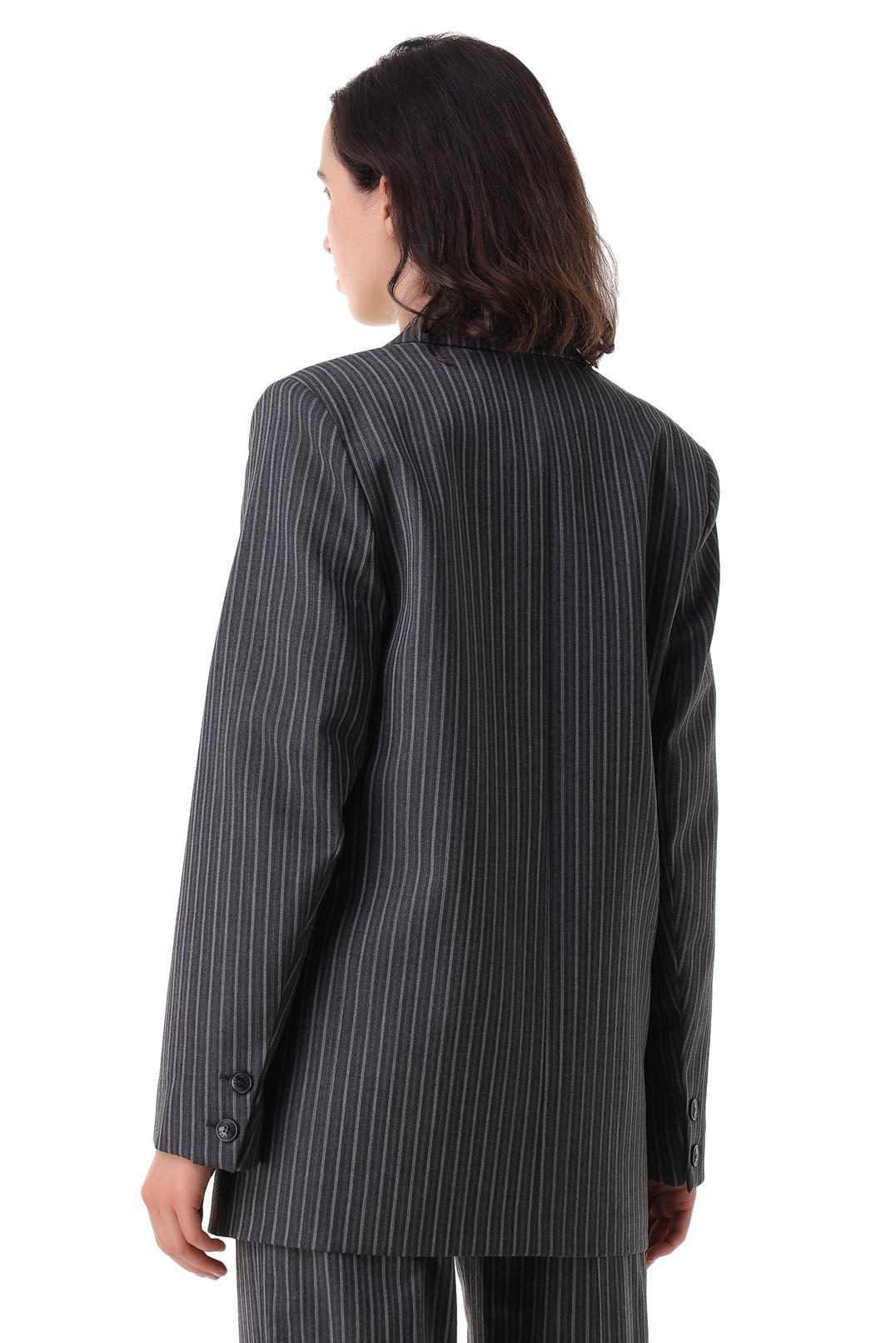Пиджак в полоску GANNI GANp21014