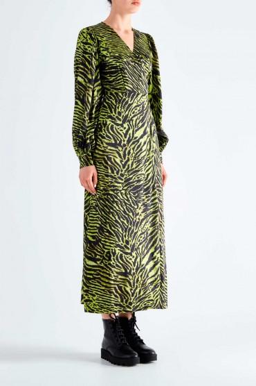 Платье на запах GANNI GANp29006
