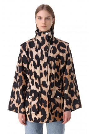 GANNI Куртка с принтом