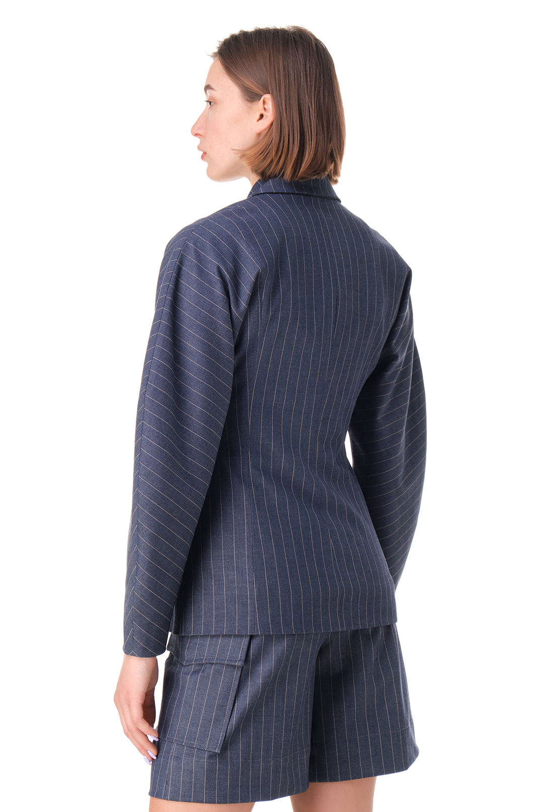 Пиджак в полоску GANNI GANw11030