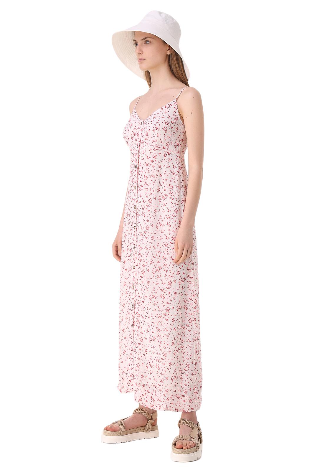 Платье с принтом GANNI GANw11032