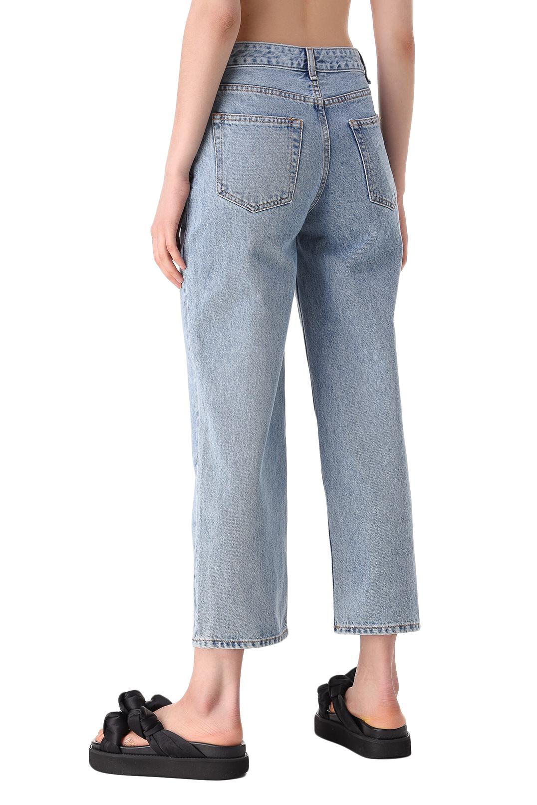 Укороченные джинсы GANNI GANw11034