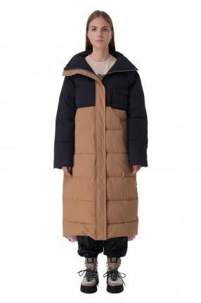 GANNI Удлиненная стеганая куртка