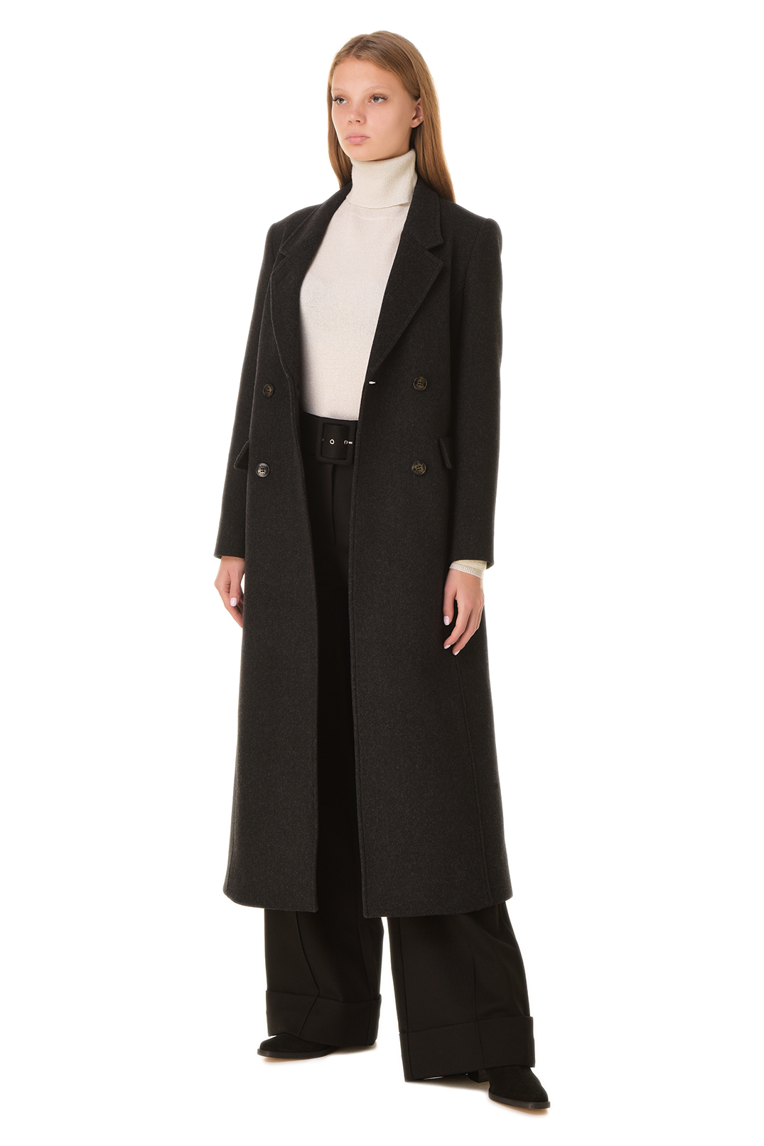 Двубортное пальто GANNI GANw20011