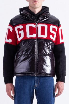 GCDS Стеганая куртка с логотипом