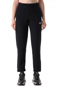 Укороченные брюки с логотипом