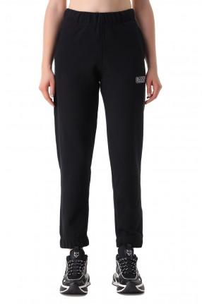 GANNI Укороченные брюки с логотипом