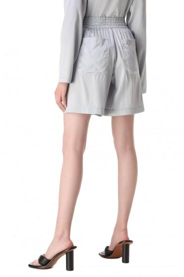 Шелковые шорты с логотипом HELMUT LANG HLw11001