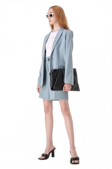 Пиджак со съемным поясом HELMUT LANG HLw11006