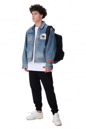 HERON PRESTON Джинсовая куртка oversize