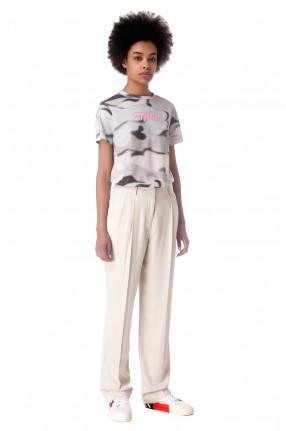 HERON PRESTON Удлиненные брюки с защипами
