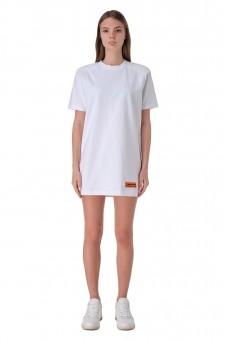 Платье-футболка с логотипом