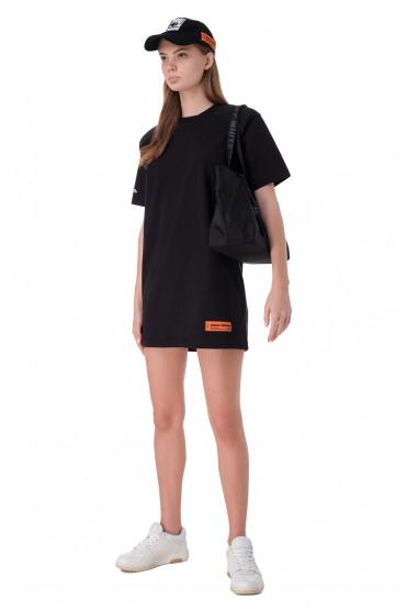 Платье-футболка с логотипом HERON PRESTON HPw11023