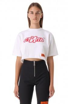 Укороченная футболка СТИЛЬ