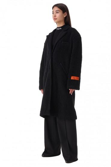 Пальто из эко-меха HERON PRESTON HPw21017