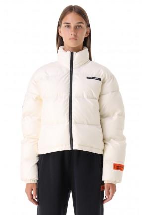 HERON PRESTON Укороченная стеганая куртка с логотипом