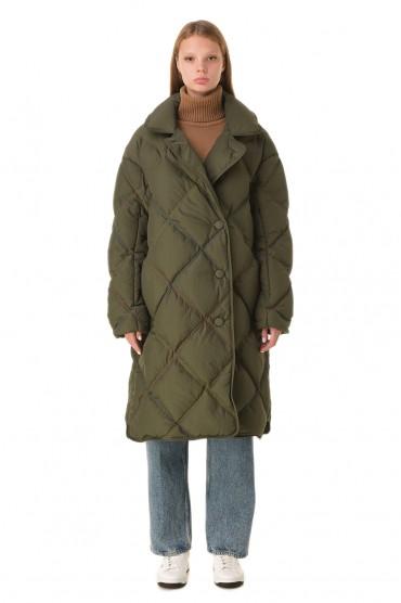 Стеганое пуховое пальто IENKI IENKI IENw20002